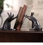 SPI Rabbit Pushing Books Bookends