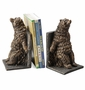 SPI Home Reclining Bear Resin Bookend Pair