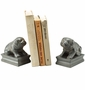 SPI Home Sitting Bulldog Resin Bookend Pair