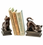 SPI Home Playing Cat Resin Bookend Pair