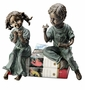 SPI Home Aluminum Boy & Girl Shelf Sitters