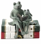 SPI Home Parent & Kid Reading Frog Aluminum Shelf Sitter
