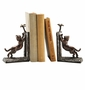 SPI Home Cast Iron Climbing Cat Bookends