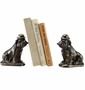 SPI Home Cast Iron Bulldogs with Cigars Bookends
