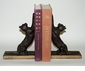 Dessau Home Bronze Iron Cat Bookends