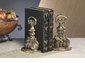 Dessau Home Antique Brass Bookends