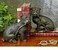 Dessau Home Bull Dog Bookend Bronze Resin