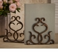Dessau Home Bronze Flare Scroll Bookends