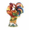 "J. Willfred Ceramics 16.25"" Rooster with Pears"