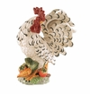 "J. Willfred Ceramics Rooster with Vegetables - 14"" Tall"