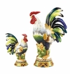 Andrea by Sadek Small Rooster with Corn Figurine