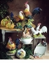 "Intrada Italy Campagna 20.5"" Colored Hen Statue"