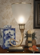 Dessau Home Antique Brass Torchiere Lamp