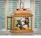 Dessau Home Antique Brass Rectangular Lantern
