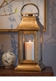 Dessau Home Antique Brass Square Lantern