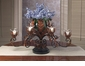 Dessau Home Table Topiary Bronze Iron