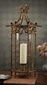 Dessau Home Antique Gold Iron Bamboo Hurricane