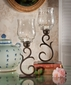 Dessau Home Bronze Flare Scroll Hurricane
