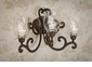Dessau Home Bronze 3 Light Scroll Wall Sconce