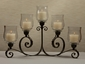 Dessau Home Bronze Iron 5 Light Acanthus Candelabra