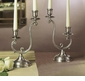 Dessau Home Antique Silver 2-Light Candleholder