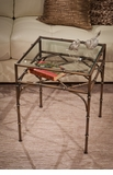Dessau Home Bronze Bamboo Table