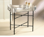 "Dessau Home Iron Bamboo Tray Stand (For 24"" X 18 Tray)"