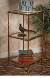 Dessau Home Antique Gold 3-Tier �tag�re