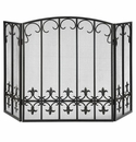 SPI Fleur de Lis Fireplace Screen