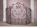 Dessau Home Gated Firescreen Bronze Iron
