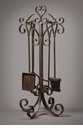 Dessau Home Bronze Scroll Fireplace Tool Set