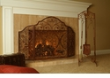 SPI Provincial 3 Panel Fireplace Screen