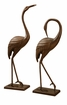 SPI Graceful Garden Crane Pair Sculpture