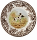 Spode Woodland Hunting Dogs Flat Coat Pointer Dinner Plate
