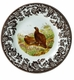 "Spode Woodland 8"" Salad Plate - Red Grouse"