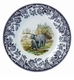 "Spode Woodland American Wildlife Collection 8"" Salad Plate - Black Bear"