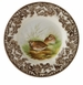 Spode Woodland Set of 4 Canape Plates - Birds