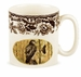 Spode Woodland Birds of Prey Mug - Red Tail Hawk (Autumn)