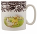 Spode Woodland Hunting Dogs 9 oz Mug - Labrador Retriever (Yellow)