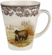 Spode Woodland American Wildlife Collection 11 oz Beverage Mug - Black Bear