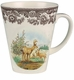 Spode Woodland American Wildlife Collection 11 oz Beverage Mug - Mule Deer