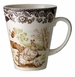 Spode Woodland American Wildlife Collection Winter Scenes 11 oz Beverage Mug - Snowshoe Rabbit