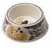 Spode Woodland Hunting Dogs Dog Bowl - All Dogs
