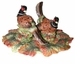 Spode Woodland Harvest Pheasant Salt & Pepper with Tray