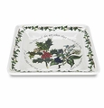 Portmeirion Holly & Ivy Square Salad Plates (Set of 6)