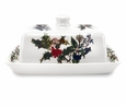 Portmeirion Holly & Ivy Covered Butter Dish
