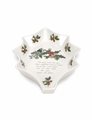 "Portmeirion Holly & Ivy 10"" x 6.75"" Ivy Leaf Dish"