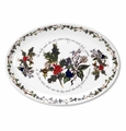 "Portmeirion The Holly and The Ivy 13"" Oval Plate/Steak Platter"