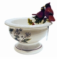 Portmeirion Holly Cardinal Dip Bowl with Spreader
