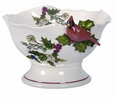 Portmeirion Holly Cardinal Centerpiece Bowl